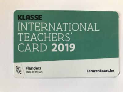 Lerarenkaart 2020