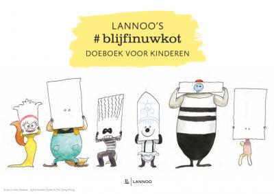 Doeboekje #blijfinuwkot Lannoo
